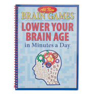 Hobbies & Books - Brain Games™ Lower Your Brain Age