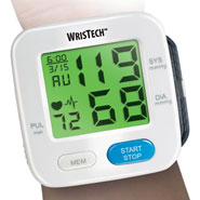 Healthy New Year - Color Changing Wrist Blood Pressure Monitor