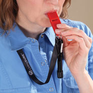 Home - Emergency Whistle with LED Flashlight by LivingSURE™