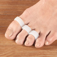 Our Favorites - Healthy Steps™ Antibacterial Triple Loop Separator, 1 Pair