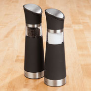 Cooking Alone - Electric Salt & Pepper Mill Set