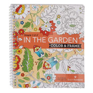 Brain Health - Adult Color & Frame Garden Coloring Book