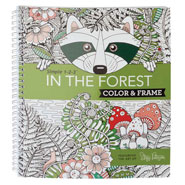 Brain Health - Adult Color & Frame Forest Coloring Book