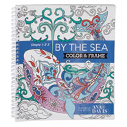 Brain Health - Adult Color & Frame Sea Coloring Book