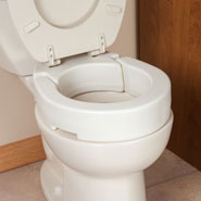 Daily Living Aids - Hinged Toilet Seat Riser