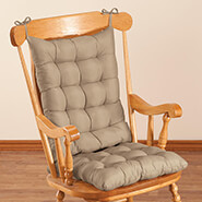 Home Comforts - Microfiber Rocking Chair Cushion Set by OakRidge Comforts™