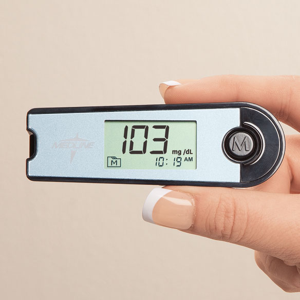 EvenCare Mini Blood Glucose Meter - View 1
