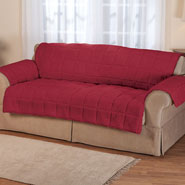 Home Comforts - Waterproof Quilted Sherpa Extra-Large Sofa Protector by OakRidge™