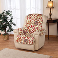 Home Comforts - Palladio Print Microfiber Recliner Cover