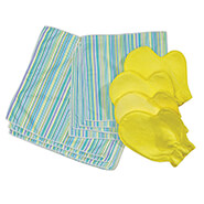 Breathe Easy - Microfiber Cleaning Cloths, Set of 12