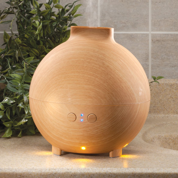 Lighted Essential Oil Diffuser & Humidifier, 600 ml