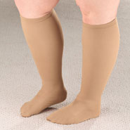 Compression Hosiery - Extra Roomy Compression Socks, 15–20 mmHg