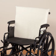 Cushions & Chair Pads - Sherpa Wheelchair Back Cushion
