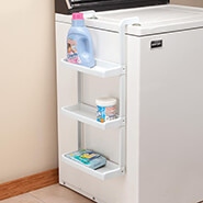 Home Necessities - Over the Washer Storage Shelf