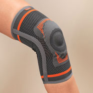 Knee & Ankle Pain - Premium Knee Support & Stabilizer with Gel Pad