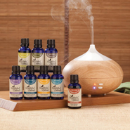 Essential Oils - Healthful™ Naturals Deluxe Kit and 280 ml Diffuser