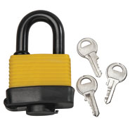 Outdoor - Weatherproof Padlock