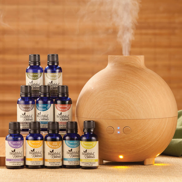 Healthful™ Naturals Premium Kit and 600 ml Diffuser