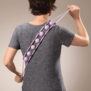 Back & Shoulder Pain - Long-Handle Back Massager Strap