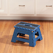 "Home Necessities - Samsonite® 9"" Folding Step Stool"