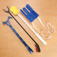 Dressing Aids - Mobility Assistance Kit, 4 Pieces