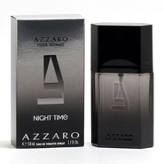 New - Azzaro Pour Homme Night Time Men, EDT Spray