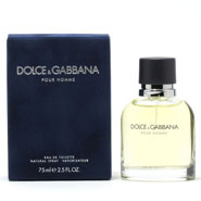New - Dolce & Gabbana Pour Homme Men, EDT Spray