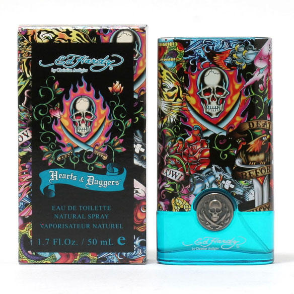 Ed Hardy Hearts & Daggers Men, EDT Spray