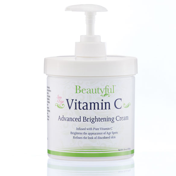 Beautyful™ Vitamin C Advanced Brightening Cream, 16 oz.
