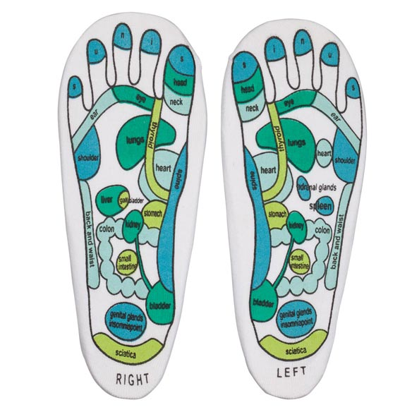 Reflexology Socks, 1 Pair