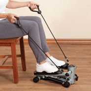 Healthy New Year - Seated Stepper with Resistance Bands