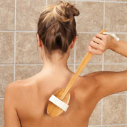 Flash Sale  - Long Handle Body Brush with Removable Head