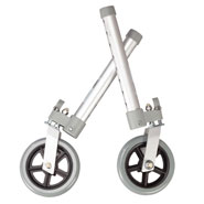 "Walkers & Rollators - Swivel Walker Wheels 5"", Set of 2"
