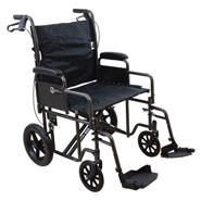 Wheelchairs & Accessories - Heavy Duty Transport Chair