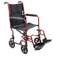Wheelchairs & Accessories - Steel Transport Chair