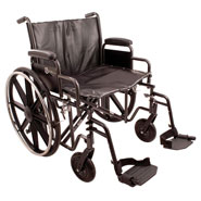 Wheelchairs & Accessories - Heavy Duty Wheelchair