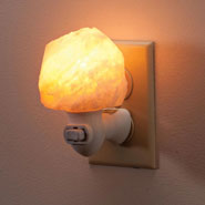 Cold, Flu, and Pain Relief - Himalayan Salt Healthy Night Light