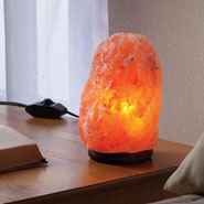 Cold, Flu, and Pain Relief - Himalayan Salt Light with Dimmer