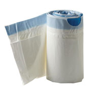 Bathroom Safety - Commode Liners with Absorbent Pad, Box of 12