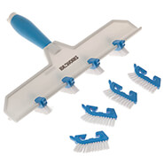 Spring Cleaning - Adjustable Grout Cleaning Brush