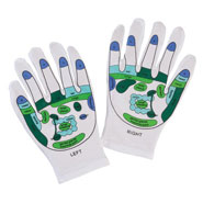 Muscle & Nerve Pain - Reflexology Gloves, 1 Pair