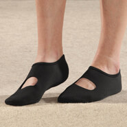Non-Slip Slippers - Silver Steps™ Mary Jane Non-Slip Slipper