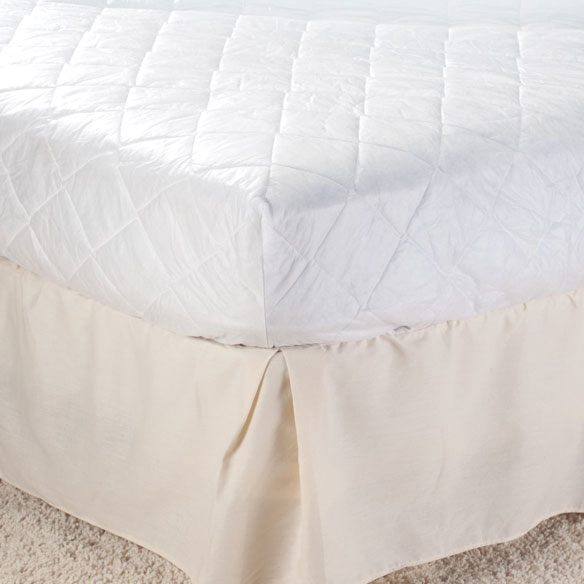 Hypoallergenic Polyester Skirted Mattress Pad