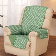 Home Comforts - Deluxe Reversible Fashion Recliner Cover by OakRidge™
