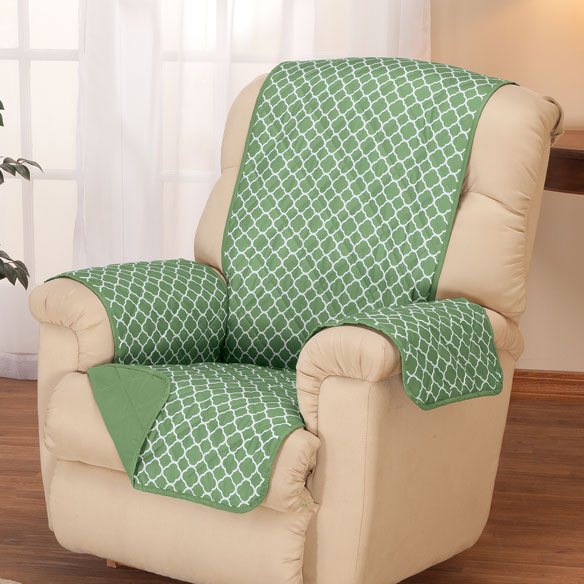 Deluxe Reversible Fashion Recliner Cover by OakRidge Comforts™