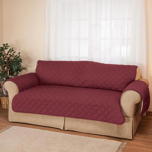 Deluxe Microfiber XL Sofa Cover by OakRidge™ - View 1