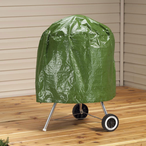 "Kettle Style Grill Cover, 23""H x 27""W"