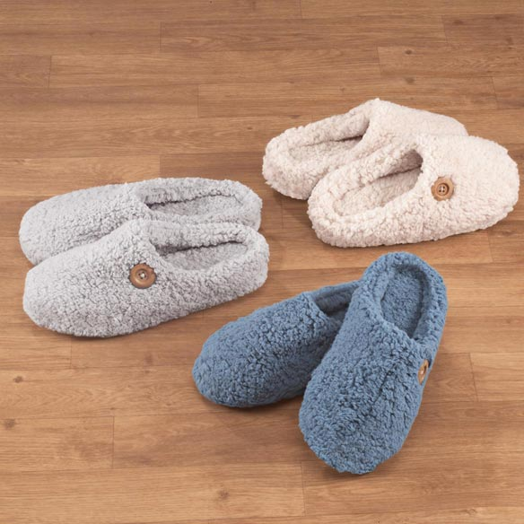 Comfy Sherpa Slippers - View 1