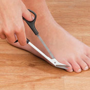 New - Long Handled Toenail Scissors