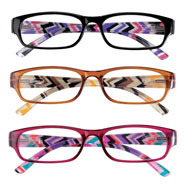 New - 3 Pack Women's Reading Glasses
